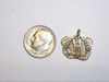 #56 Yellow Gold Warrent Officer Pendant