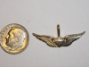 #70 Medium Yellow Gold Novice Army Aviator Pendant