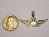 #71 Medium Yellow Gold Master Army Aviator Pendant