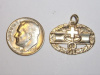 #80 Yellow Gold Combat Medic Pendant