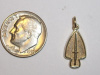 Small Yellow Gold USA SOC Pendant
