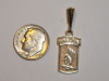 #85 Yellow Gold 173rd Airborne Pendant