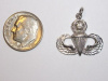 #51 Wht Gold Master Jump Wing Pendant with Diamond