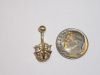 #25 Mini SF Crest Belly Button Ring