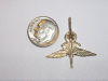#52 Yellow Gold Master Halo Wing Pendant