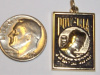 #62 Yellow Gold P.O.W./ MIA Pendant