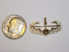 #67 Yellow Gold Air Assault Pendant