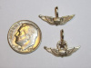 #72 Yellow Gold Mini Army Aviator Pendant