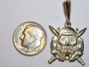 #79 Yellow Gold Master Diver Pendant