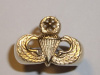 #101 Yellow Gold Master Airborne Jump Wing Ring