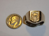 #128 Yellow Gold 10th SFG Trojan Horse Ring