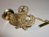 #39 Yellow Gold Master Jump Wing Tie-Tac