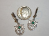 #44 Small White Gold Earrings